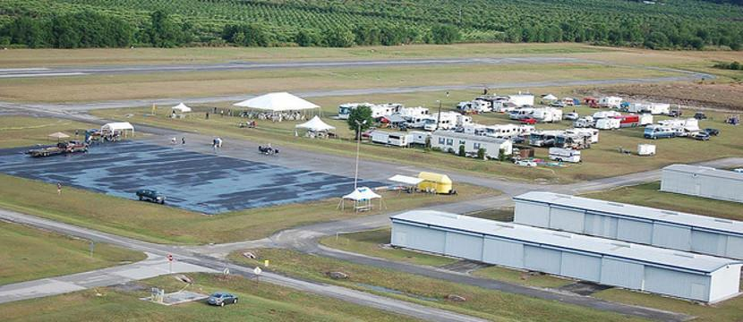 Bensen Days Gyroplane Event Aerial Photo